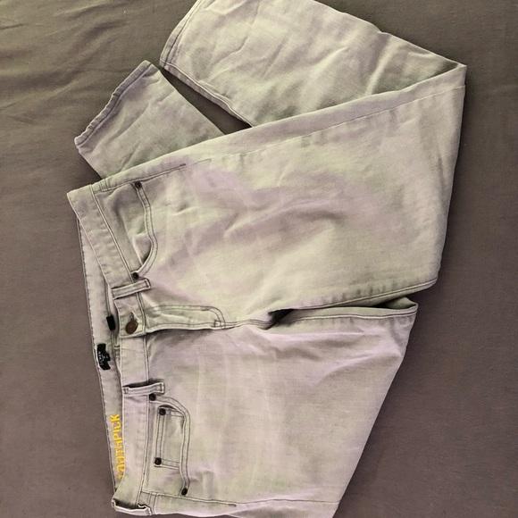 EUC Mid-rise J Crew Gray Toothpick Skinny Jeans